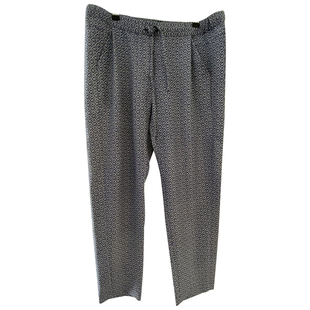 The Kooples \N Blue Trousers for Women 40 FR