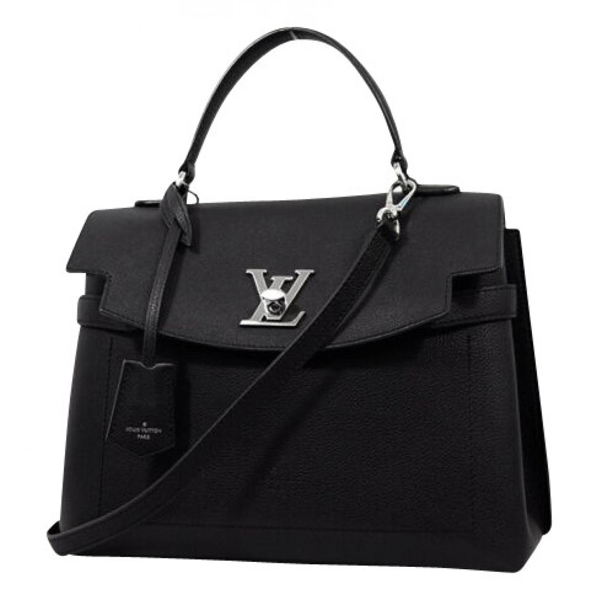 Louis Vuitton Lockme Black Cloth handbag for Women \N