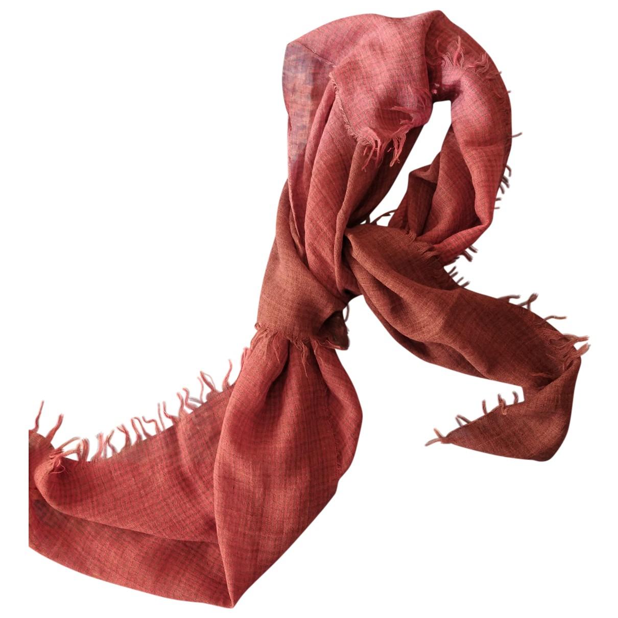 Altea - Cheches.Echarpes   pour homme en laine - rouge