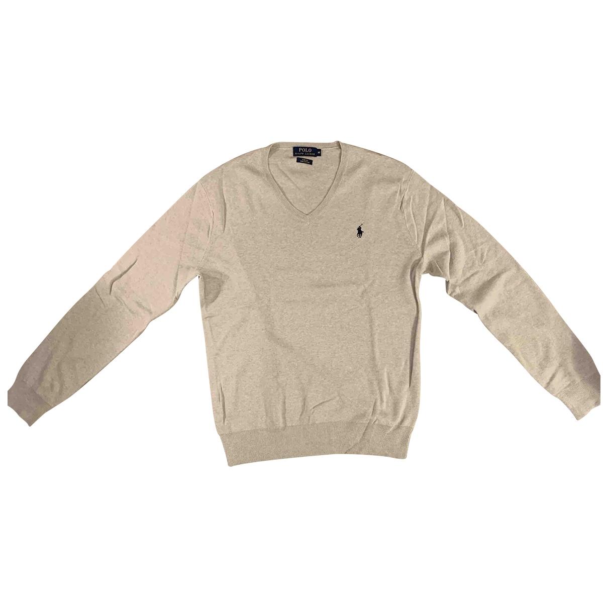 Polo Ralph Lauren - Pulls.Gilets.Sweats   pour homme en coton - blanc