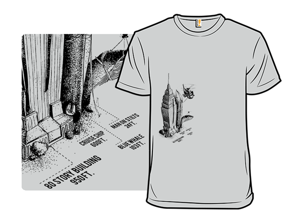 Comparative Diagram: Size Remix T Shirt