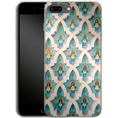 Apple iPhone 7 Plus Silikon Handyhuelle - Moroccan Mosaic von Omid Scheybani