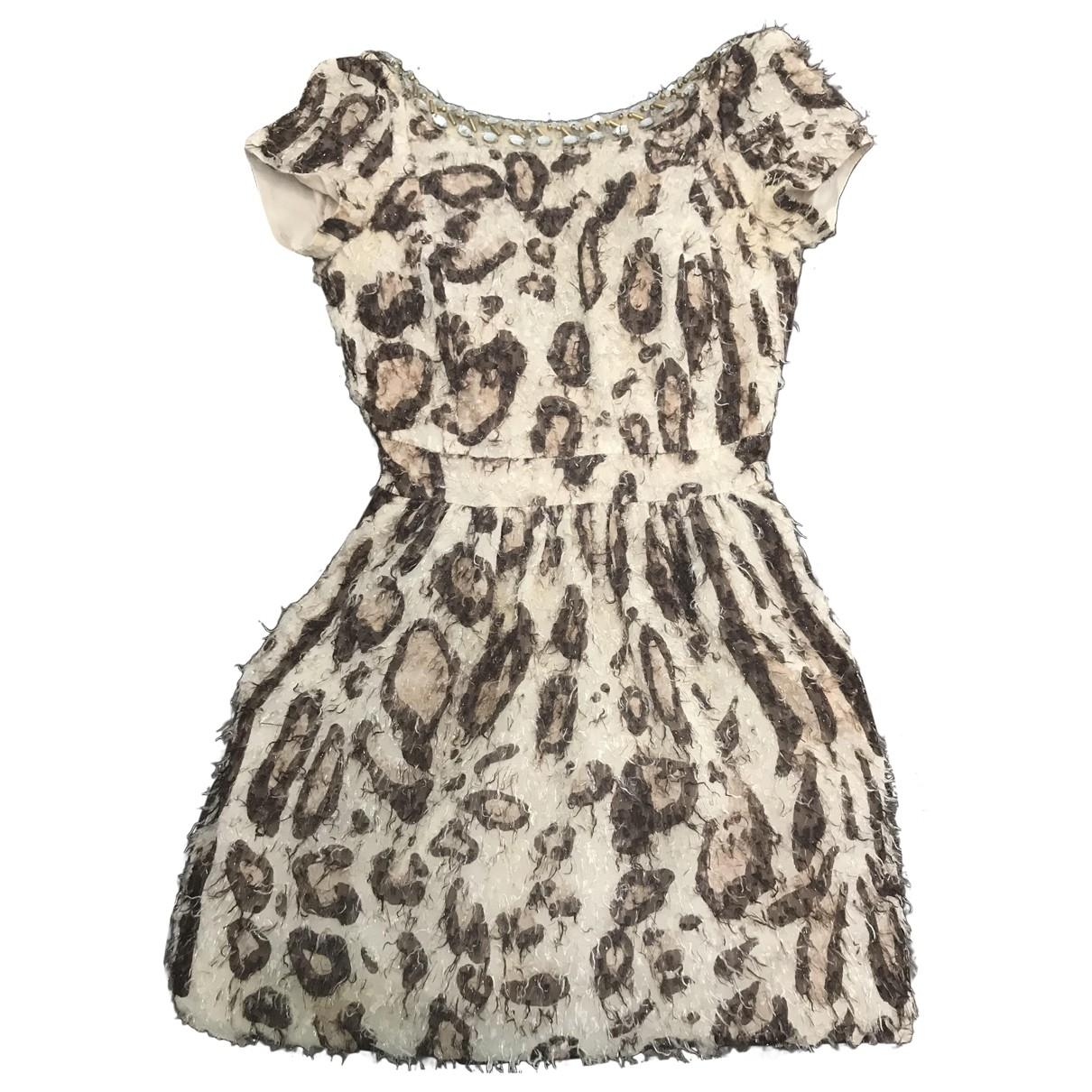 Blumarine - Robe   pour femme en soie - multicolore