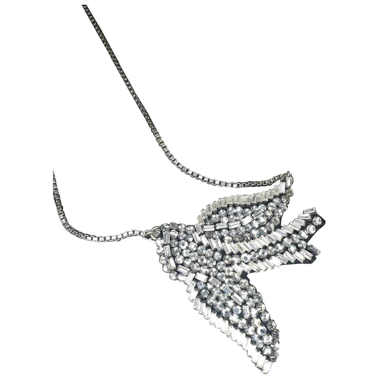 Shourouk \N Silver Metal Long necklace for Women \N