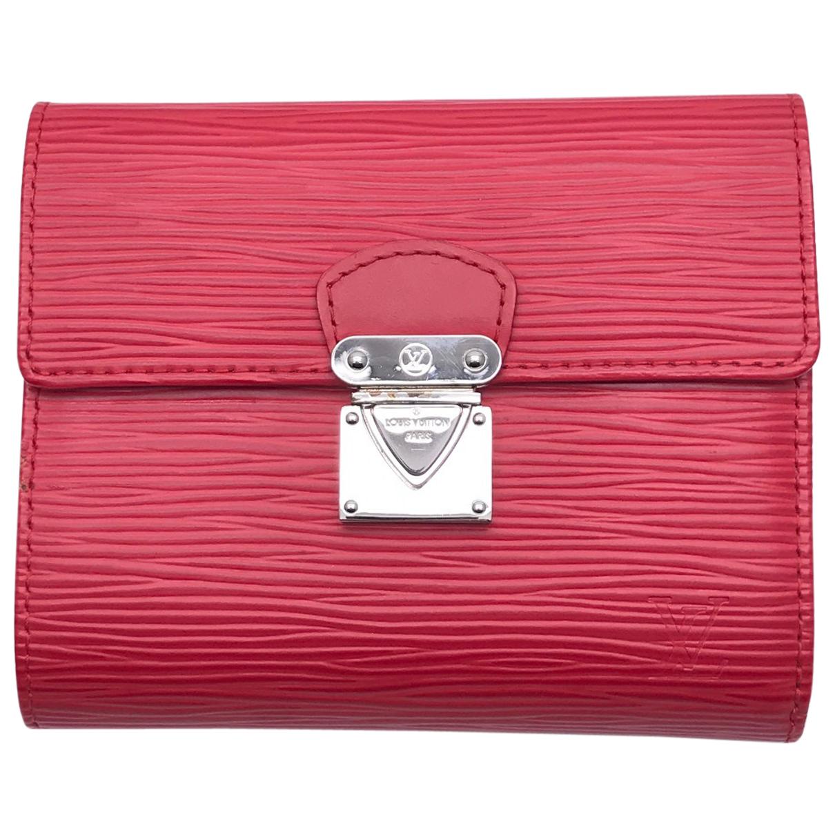 Louis Vuitton - Portefeuille Koala pour femme en cuir - rouge