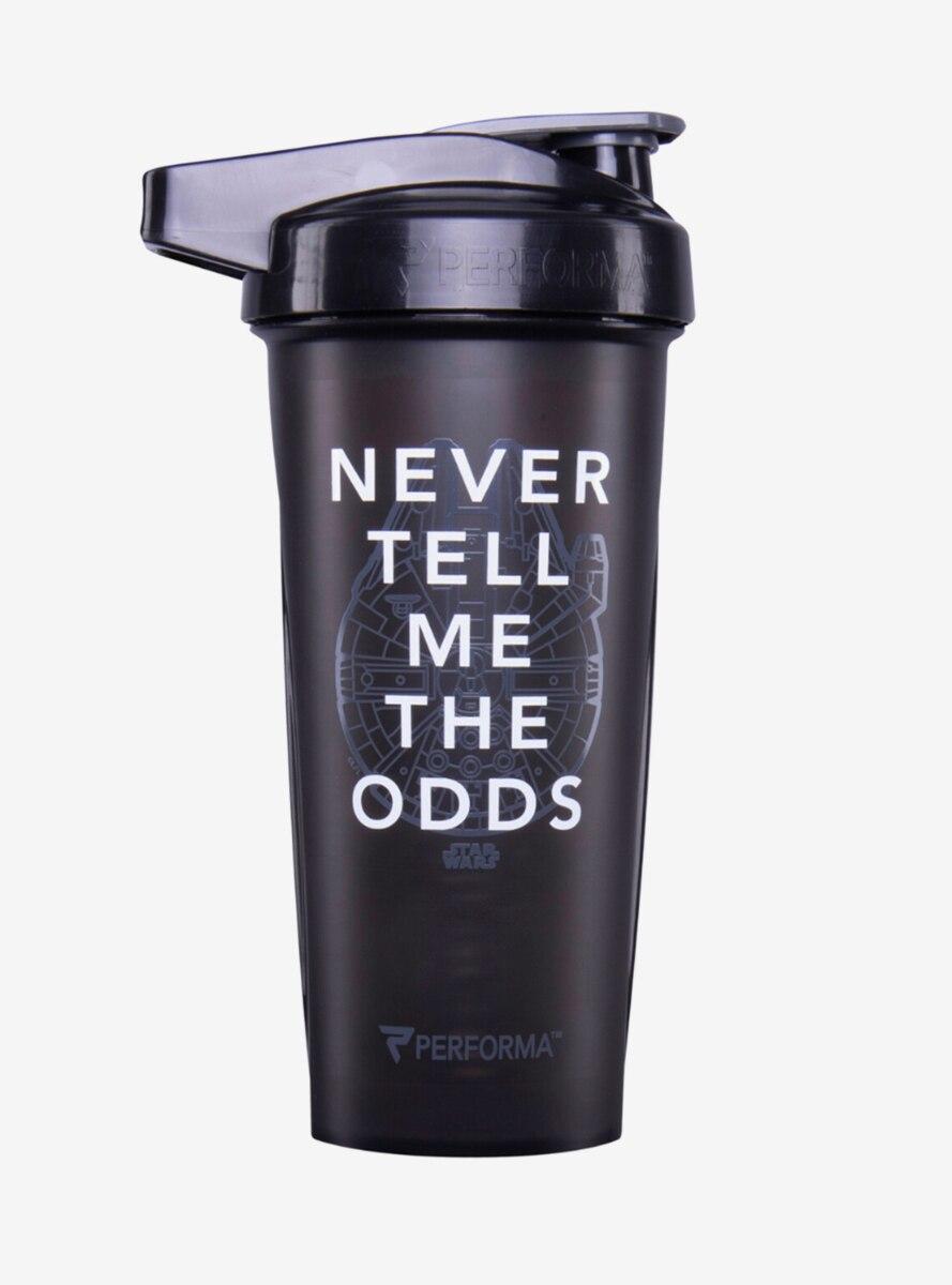 Star Wars Never Tell Me the Odds Shaker Bottle