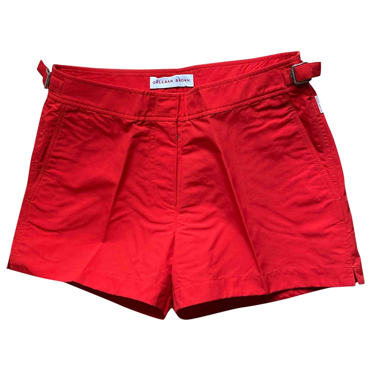 Orlebar Brown \N Red Shorts for Women 10 UK
