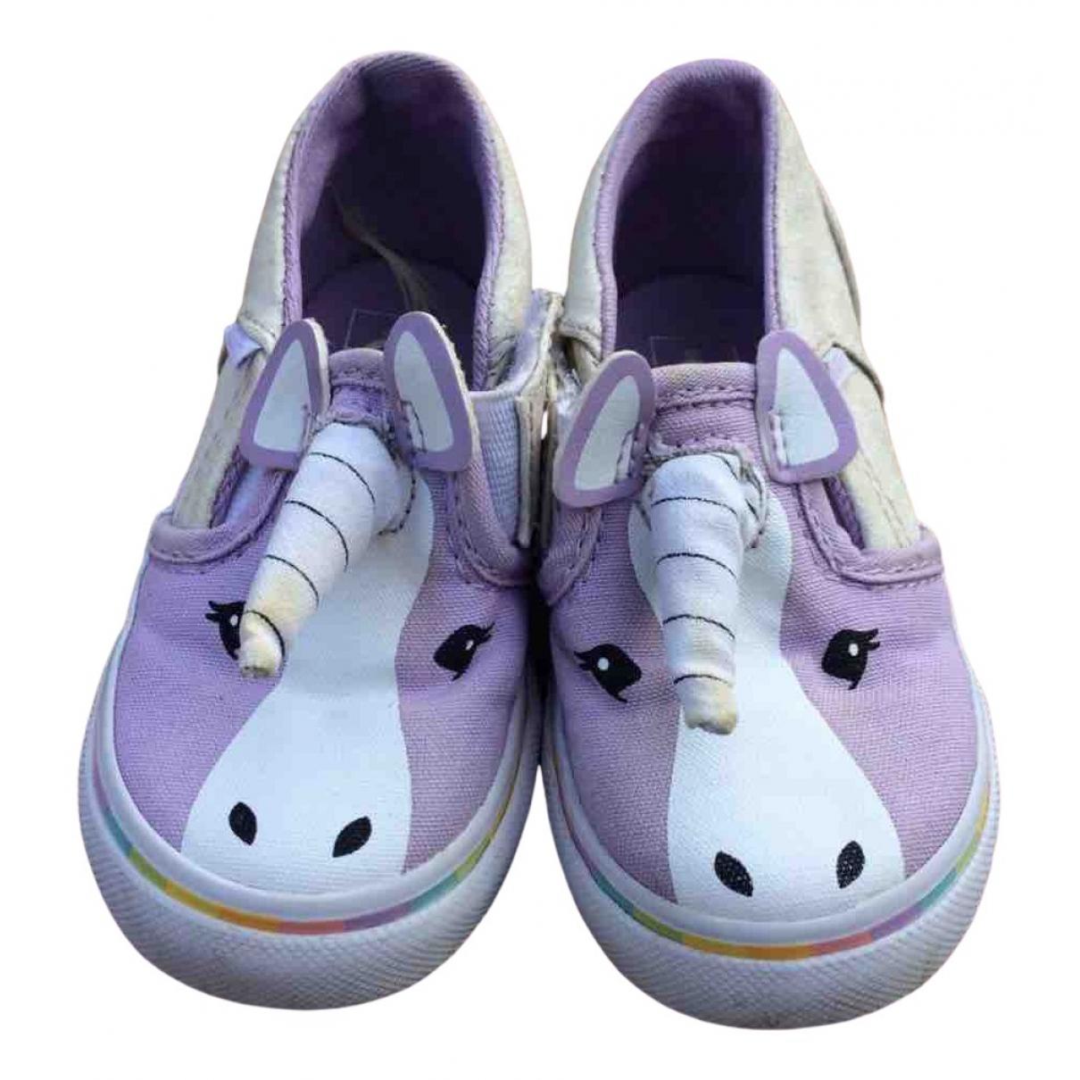 Vans \N Cloth Trainers for Kids 22 FR