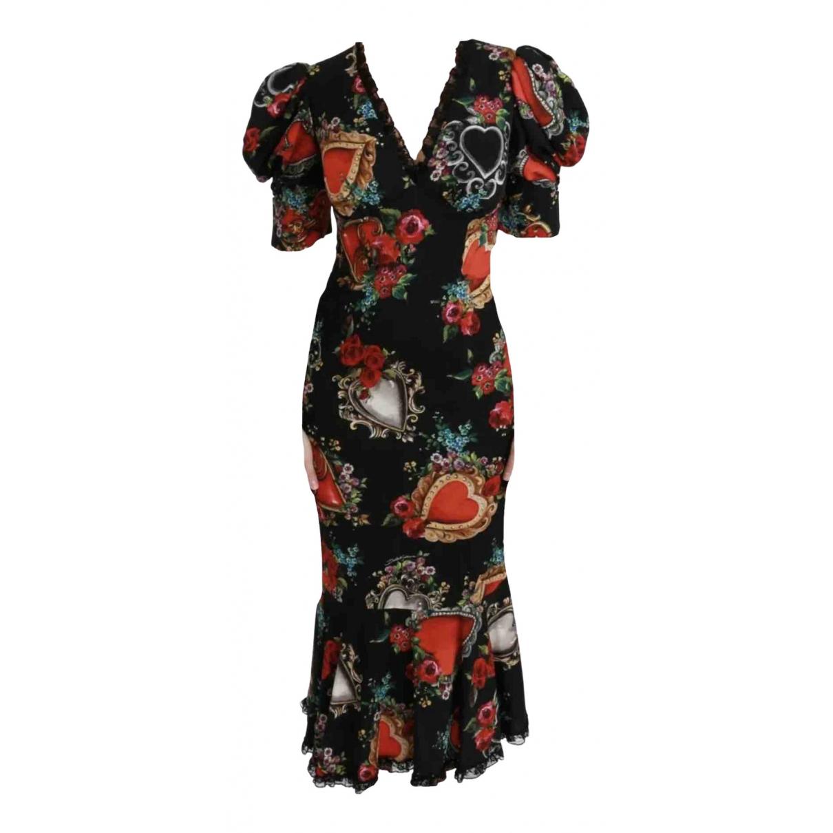 Dolce & Gabbana N Multicolour Silk dress for Women XS International