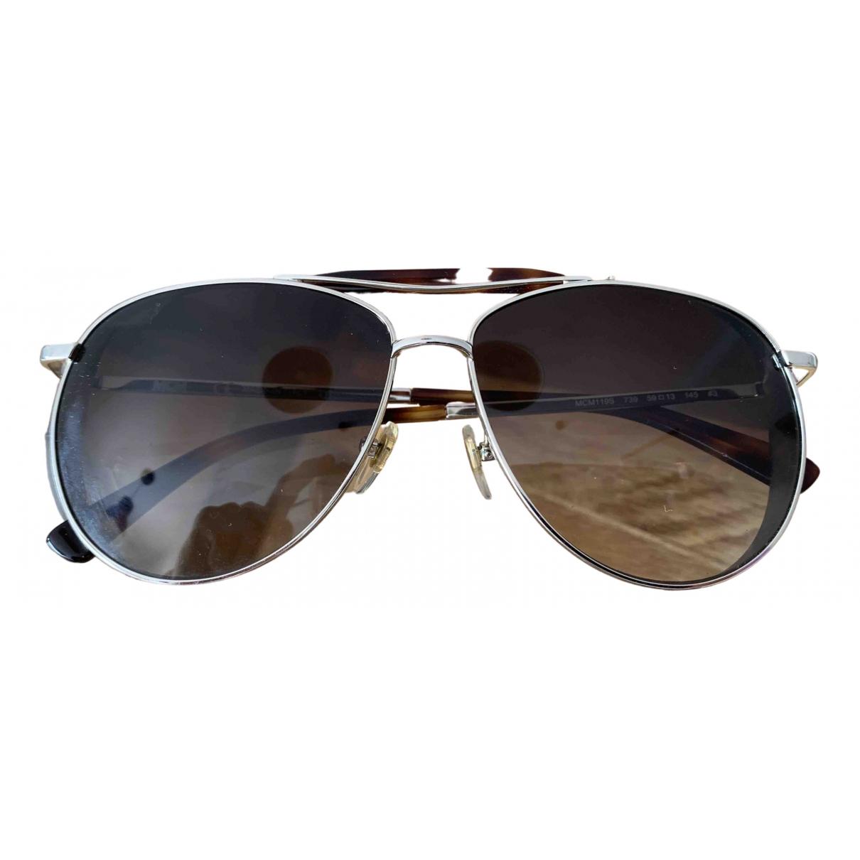 Mcm N Brown Metal Sunglasses for Women N