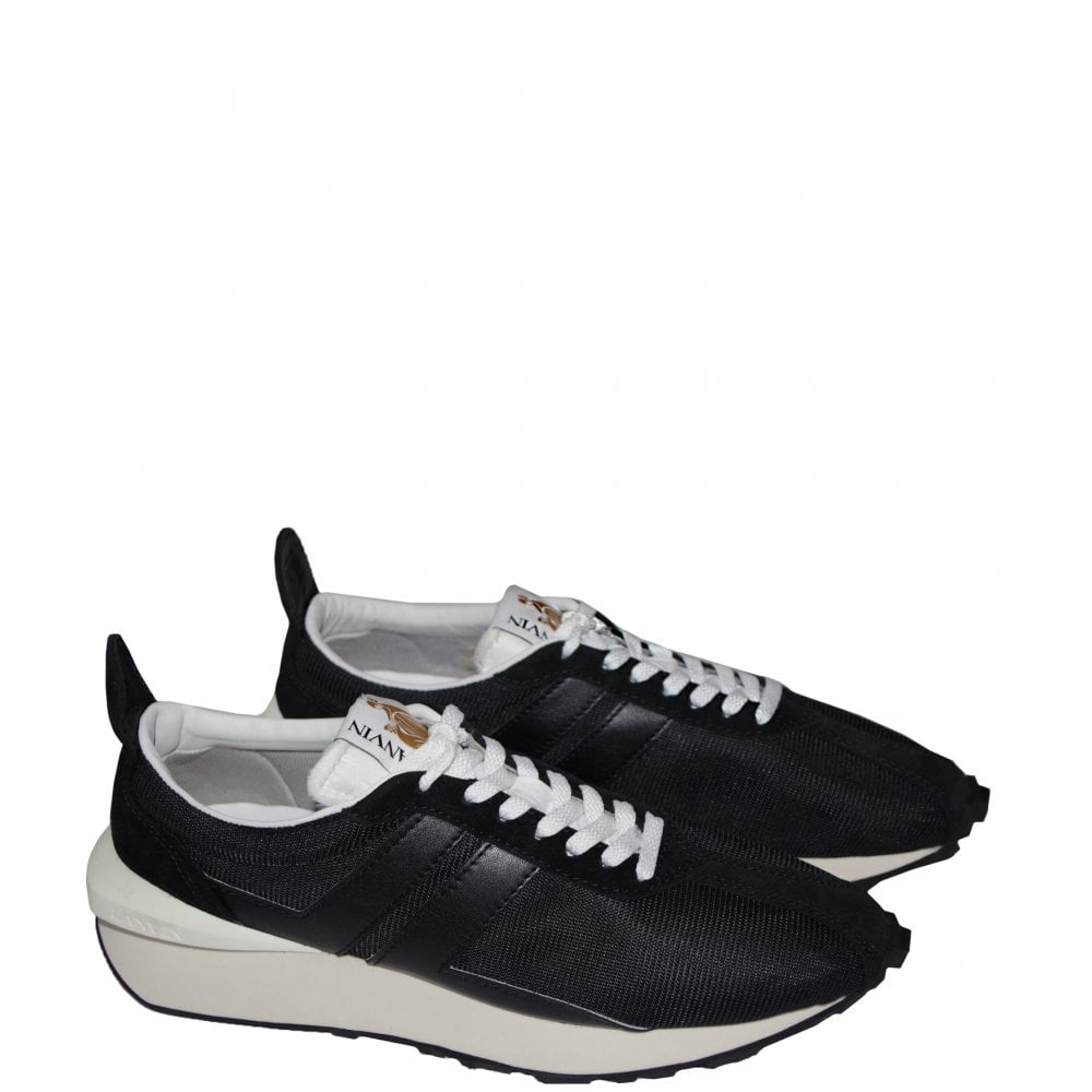 Lanvin Running Sneaker Colour: BLACK, Size: 7
