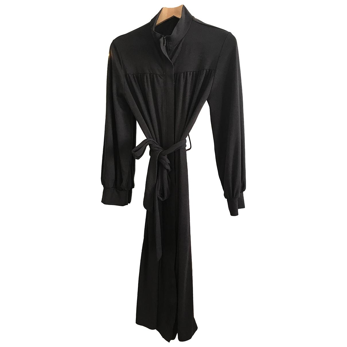 Zara \N Grey Cotton dress for Women 36 FR