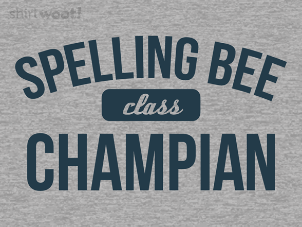 Spelling Bee Remix T Shirt
