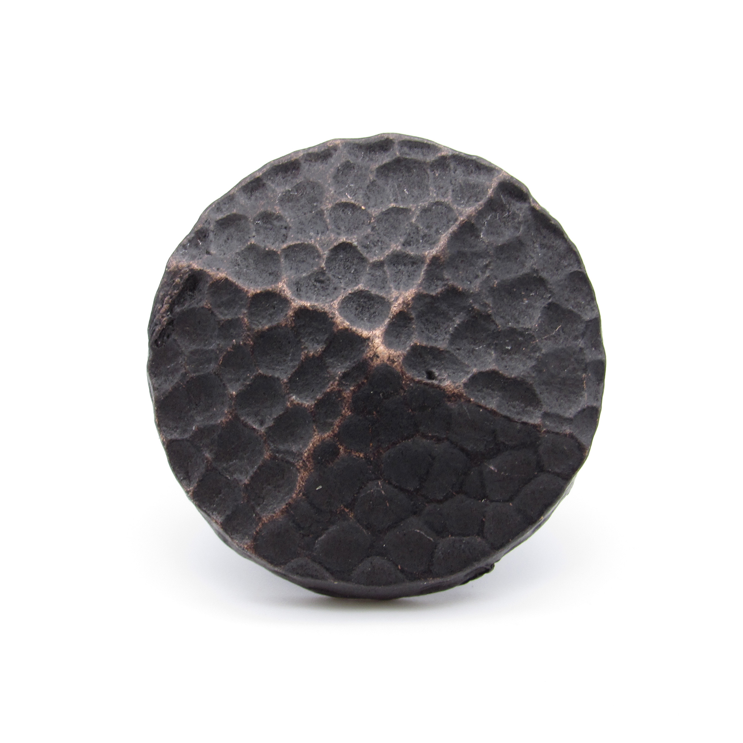 """Round 1-1/4"""" Hammered Clavo Decorative Nail, 4-Pack, Oil Rubbed Bronze"""