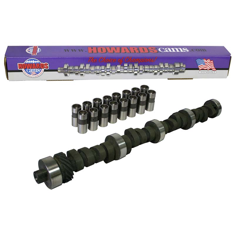 Mechanical Flat Tappet Camshaft & Lifter Kit; 1970 - 1983 Ford 351C, 351M, 400 2000 to 6200 Howards Cams CL232342-10 CL232342-10