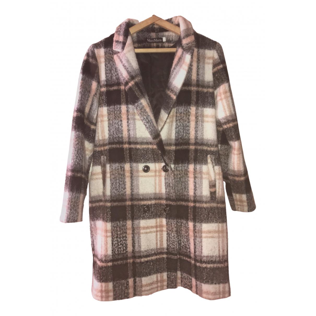 Max Mara - Manteau   pour femme en laine - multicolore