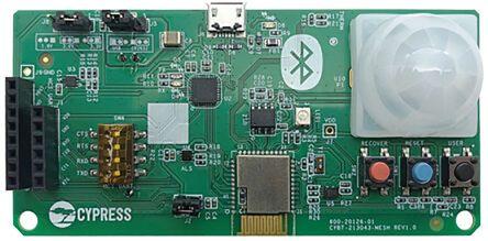 Cypress Semiconductor CYBT-213043-EVAL, CYBT-213043-02 Bluetooth Evaluation Base Board EZ-BTF™ Module Arduino