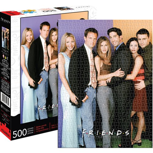 Friends Cast 500-Piece Puzzle