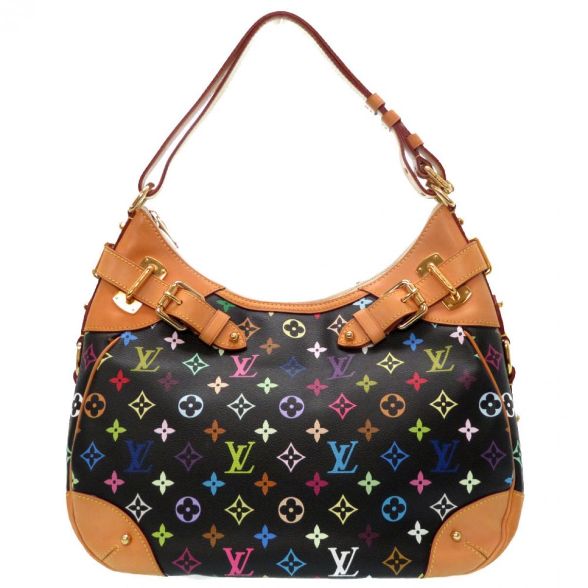 Louis Vuitton Greta Black Cloth handbag for Women \N