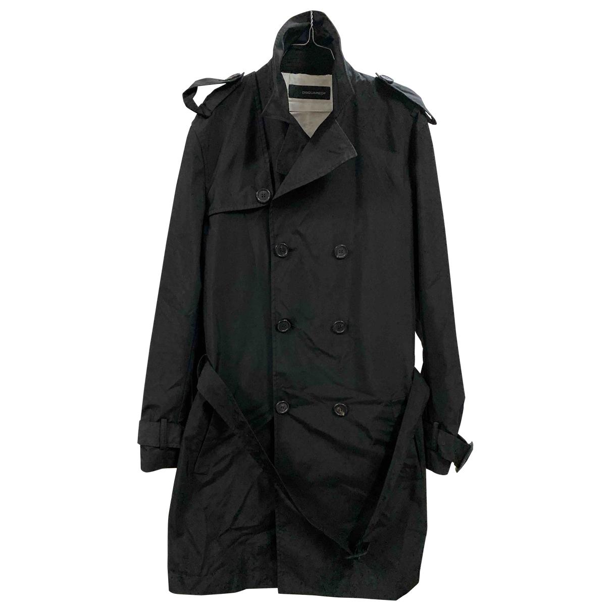 Dsquared2 - Manteau   pour homme - noir