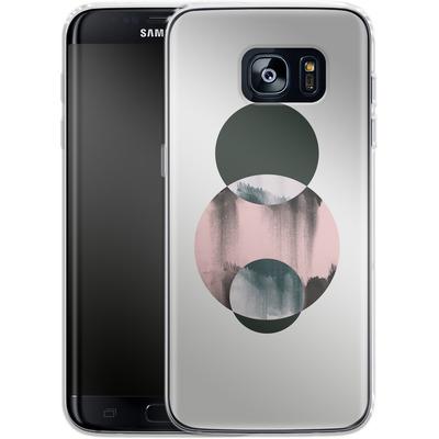 Samsung Galaxy S7 Edge Silikon Handyhuelle - Minimalism 14 von Mareike Bohmer