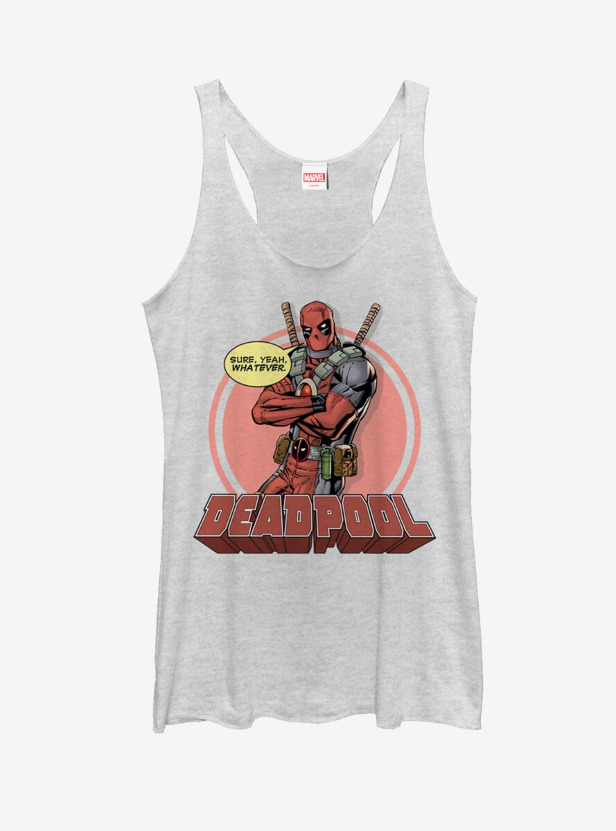 Marvel Deadpool Whatever Womens Tank