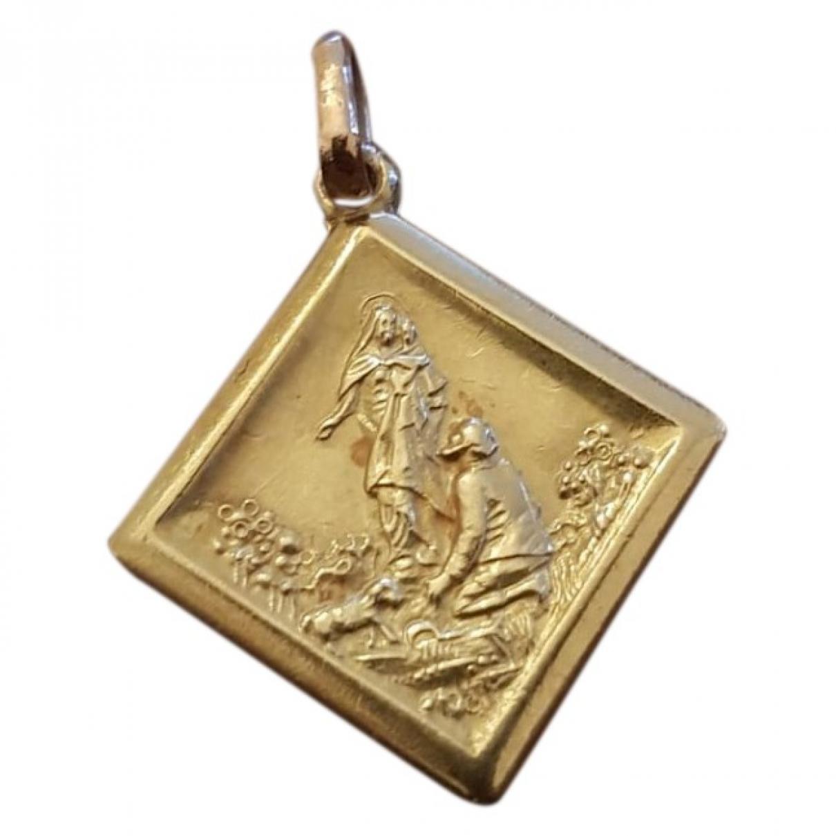 Colgante Medailles de Oro amarillo Non Signe / Unsigned