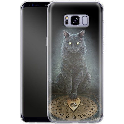 Samsung Galaxy S8 Plus Silikon Handyhuelle - His Masters Voice von Lisa Parker