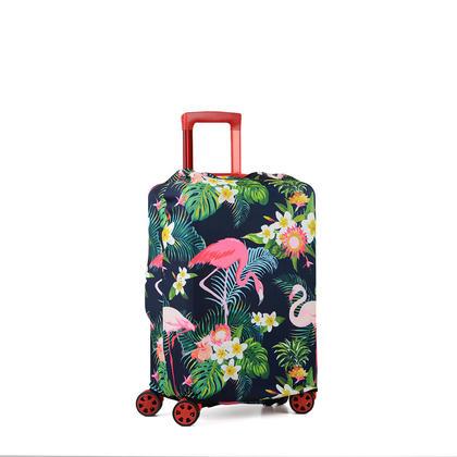 Protecteur de valise pour housse de bagage de voyage pour 22-29 pouces - Flamant, M (22