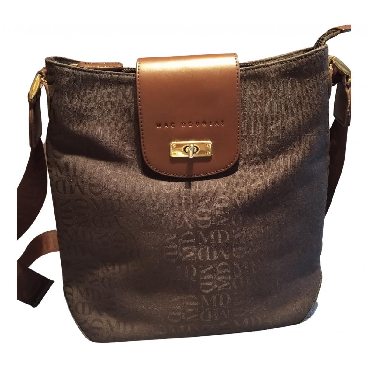 Mac Douglas \N Handtasche in  Braun Leinen
