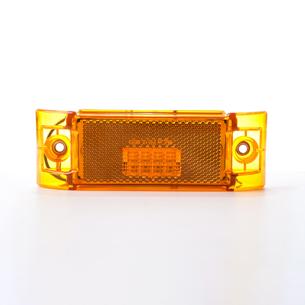 Hd Value HDV2101Y - 6 Rectangular Amber Marker/Clearance M/C Reflex...