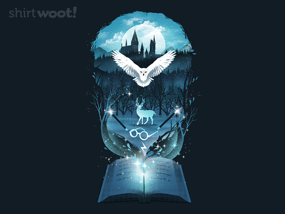 Book Of Magic And Adventures T Shirt