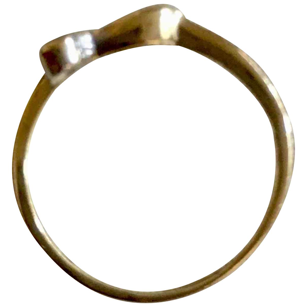 - Bague Solitaire pour femme en or jaune - dore