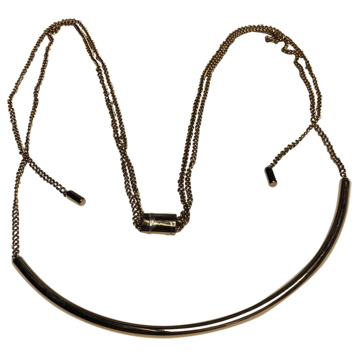 Michael Kors - Collier   pour femme en acier - dore
