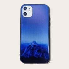 iPhone Huelle mit Landschaft Muster