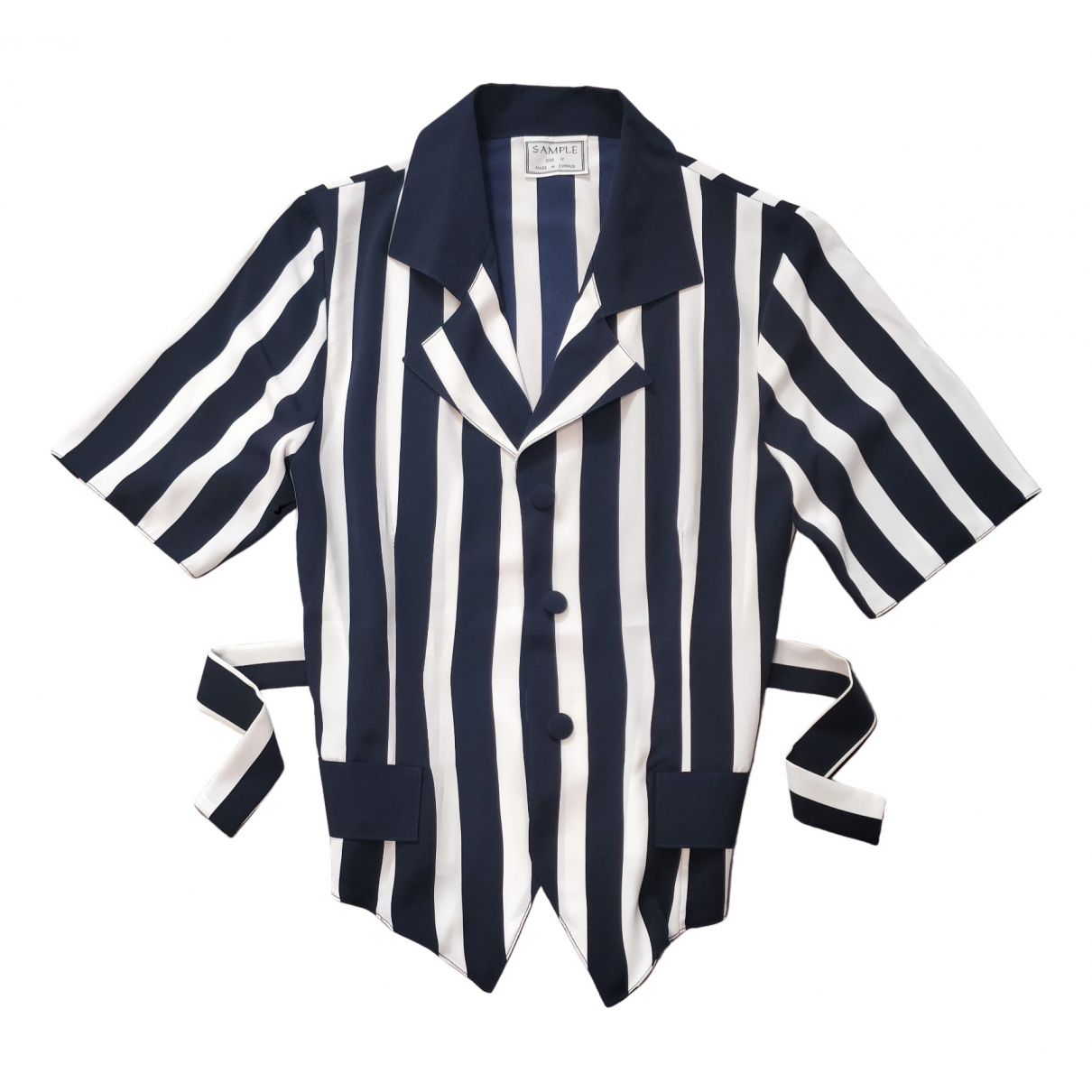 Non Signé / Unsigned \N Navy  top for Women S International