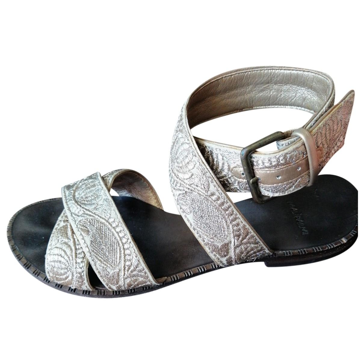 Sandalias romanas de Cuero Maliparmi