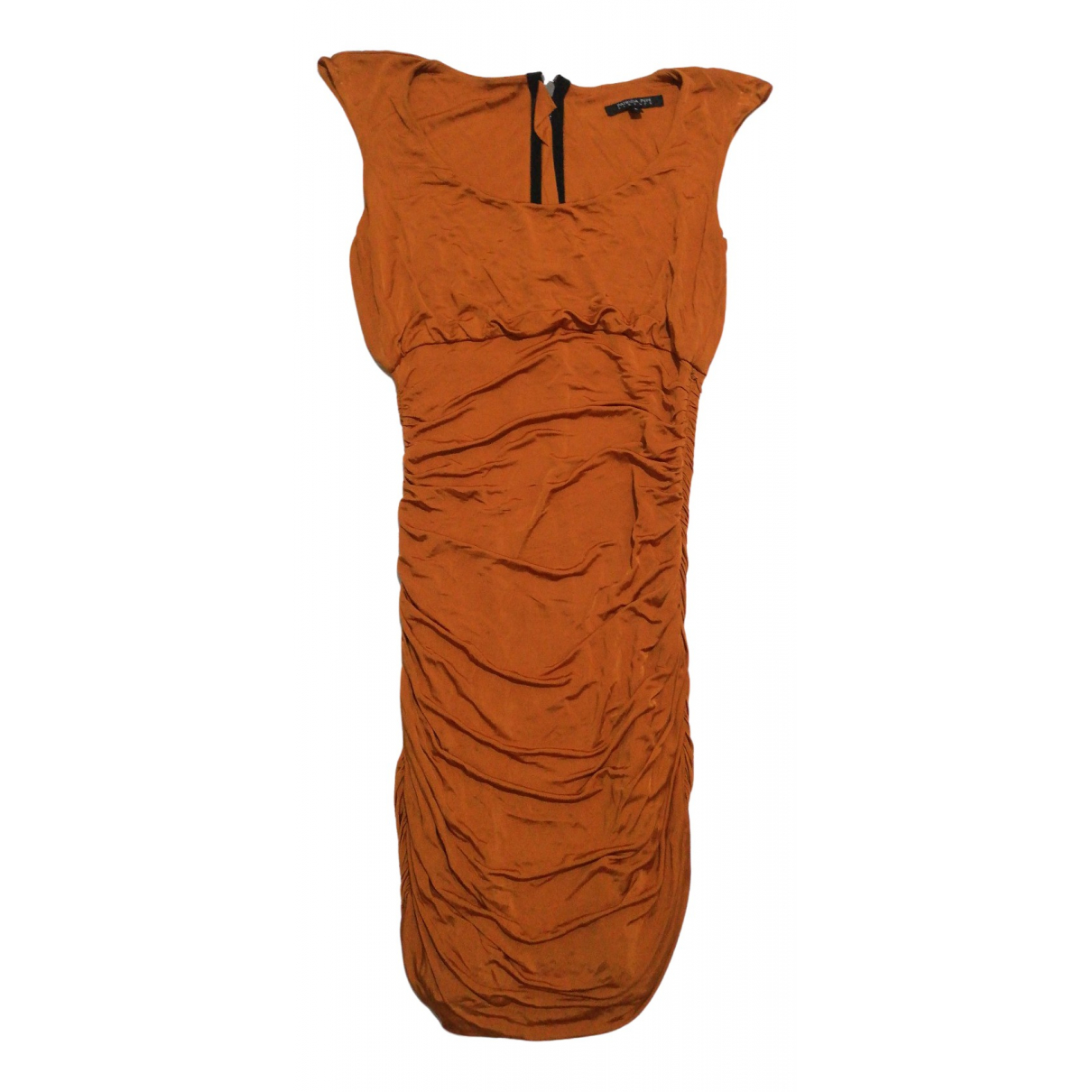 Patrizia Pepe \N Kleid in  Orange Viskose