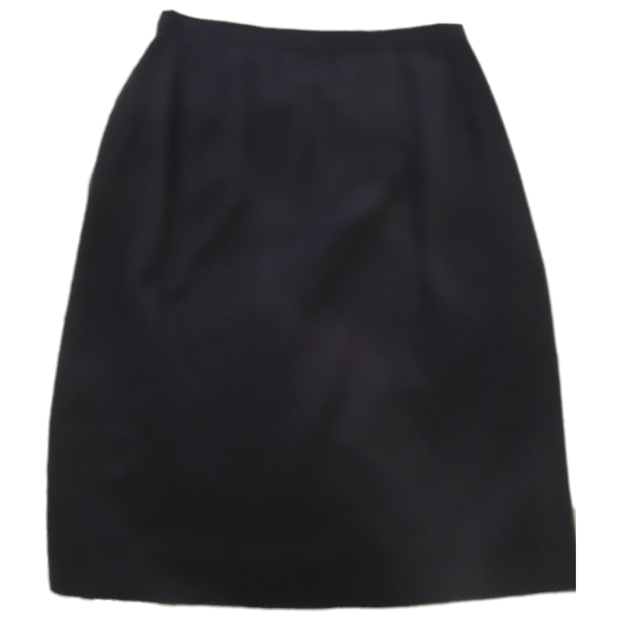 Chanel \N Blue Wool skirt for Women 42 IT