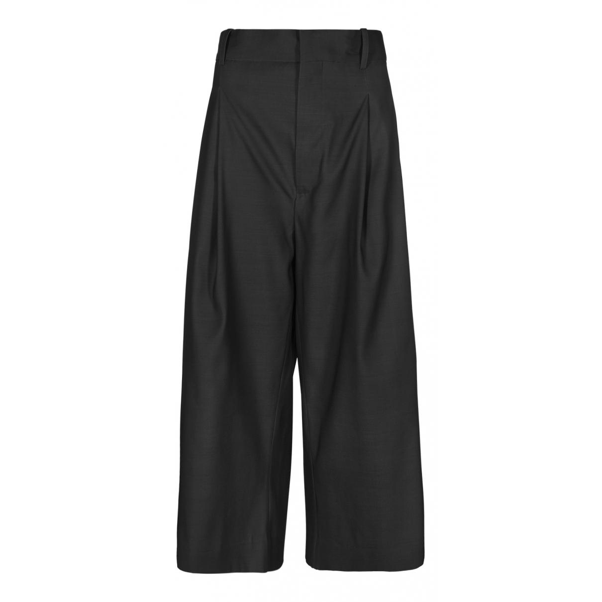 Marni - Pantalon   pour femme en laine - gris