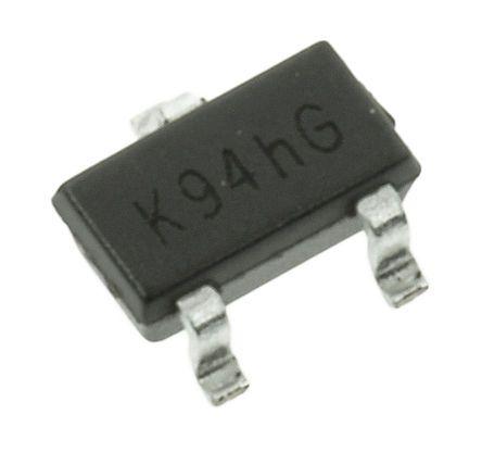 Toshiba 2SA1163-GR(TE85L,F PNP Transistor, 100 mA, 120 V, 3-Pin SOT-346 (50)