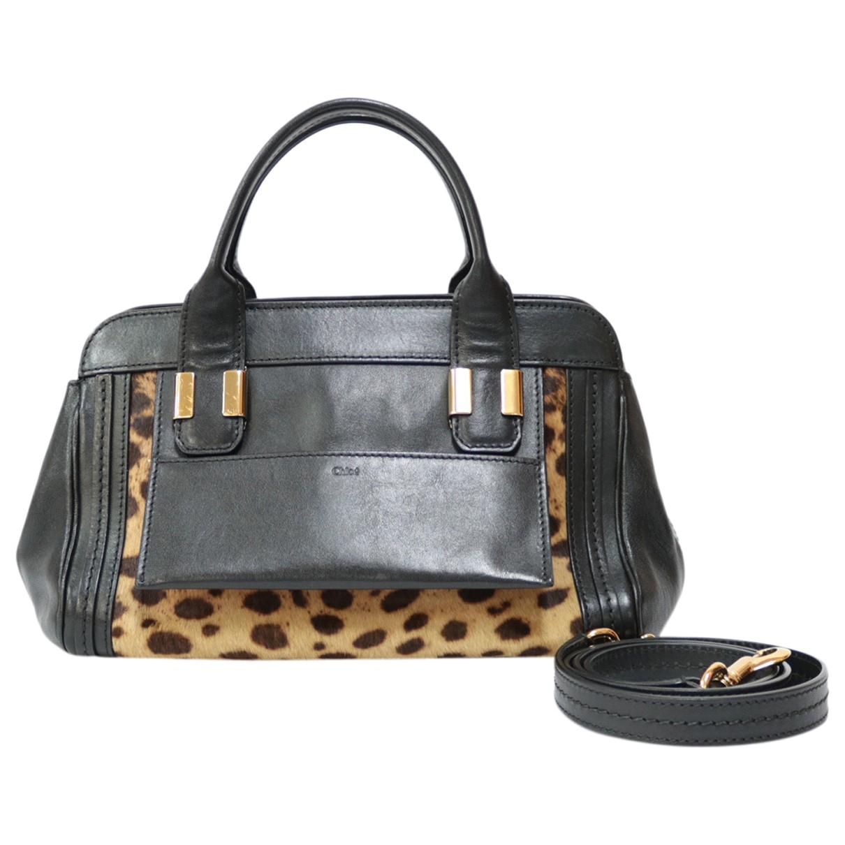 Chloé \N Black Leather handbag for Women \N