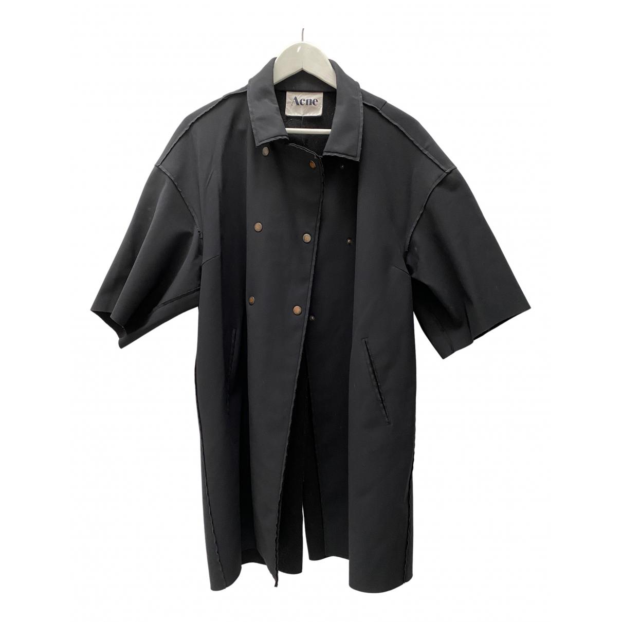 Acne Studios N Black coat for Women 36 IT