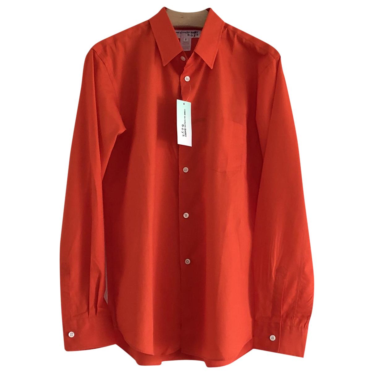 Comme Des Garcons \N Red Cotton Shirts for Men M International
