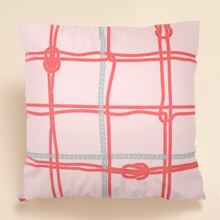 Rope Print Cushion Cover Without Filler