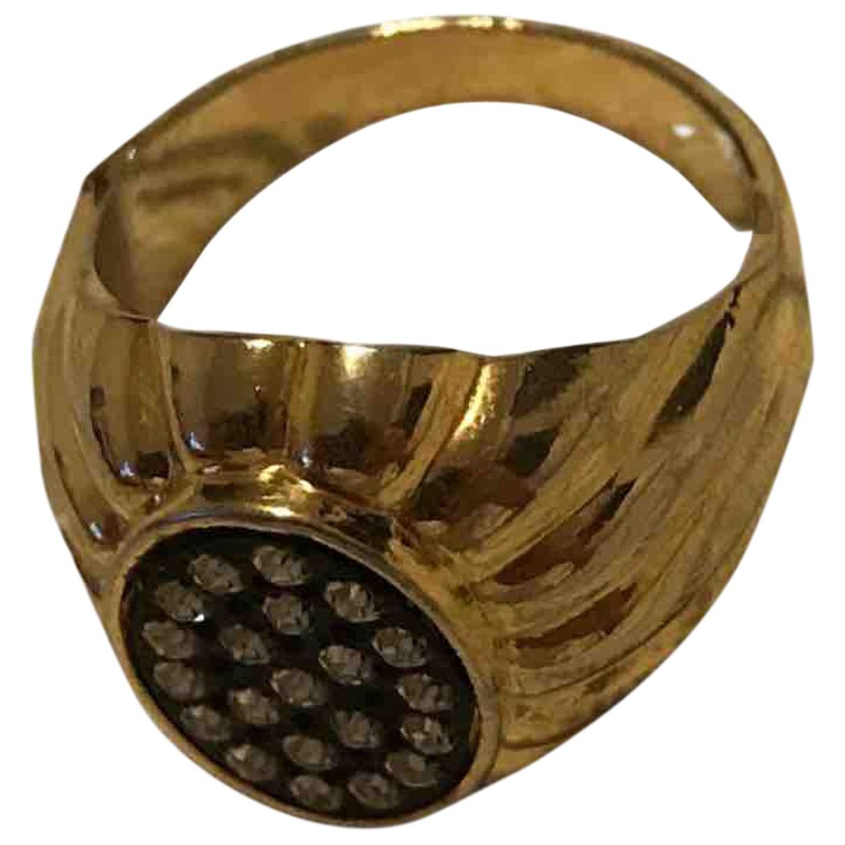 - Bague Chevalieres pour femme en metal - dore