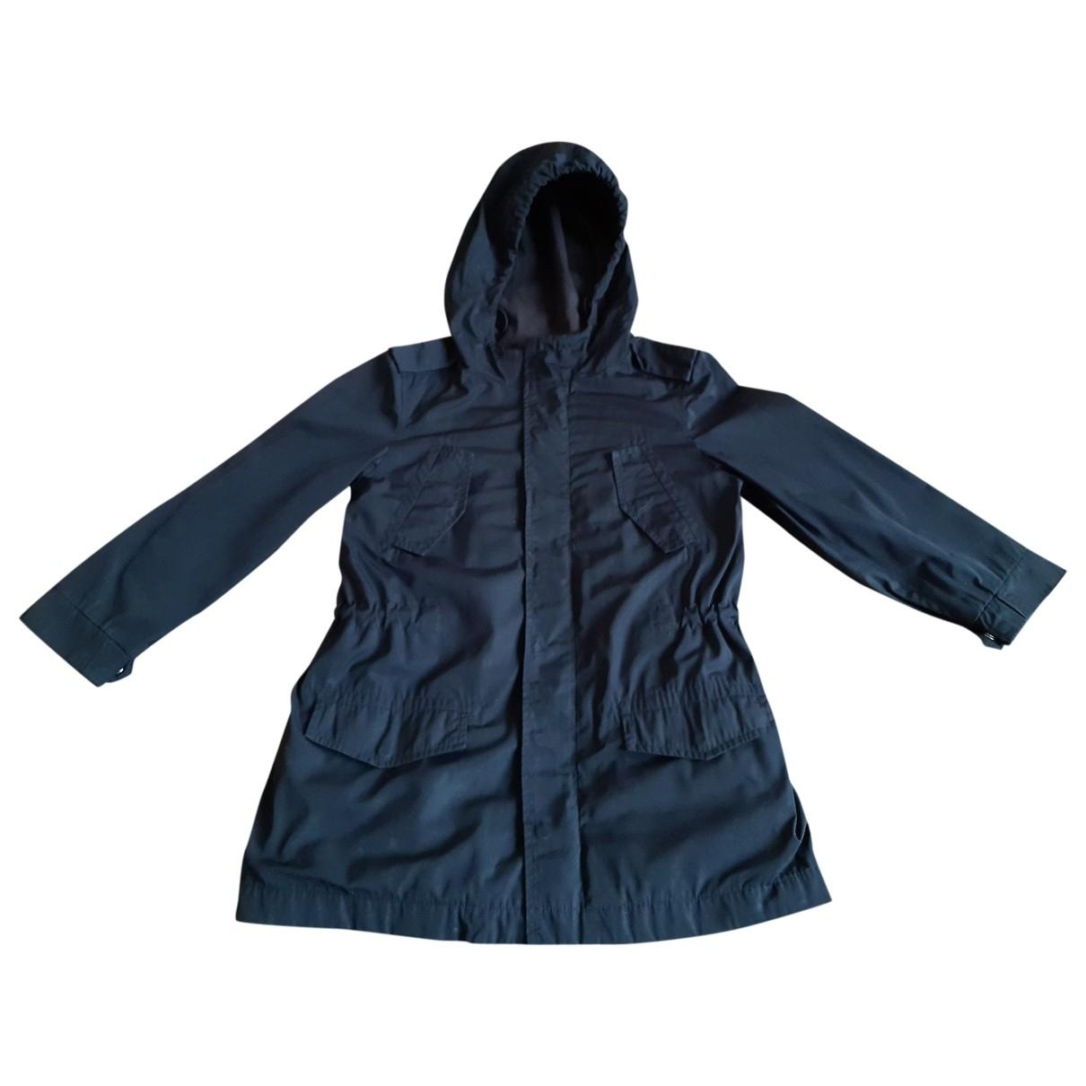 Abrigo, Chaqueta en Sintetico Azul Bonpoint