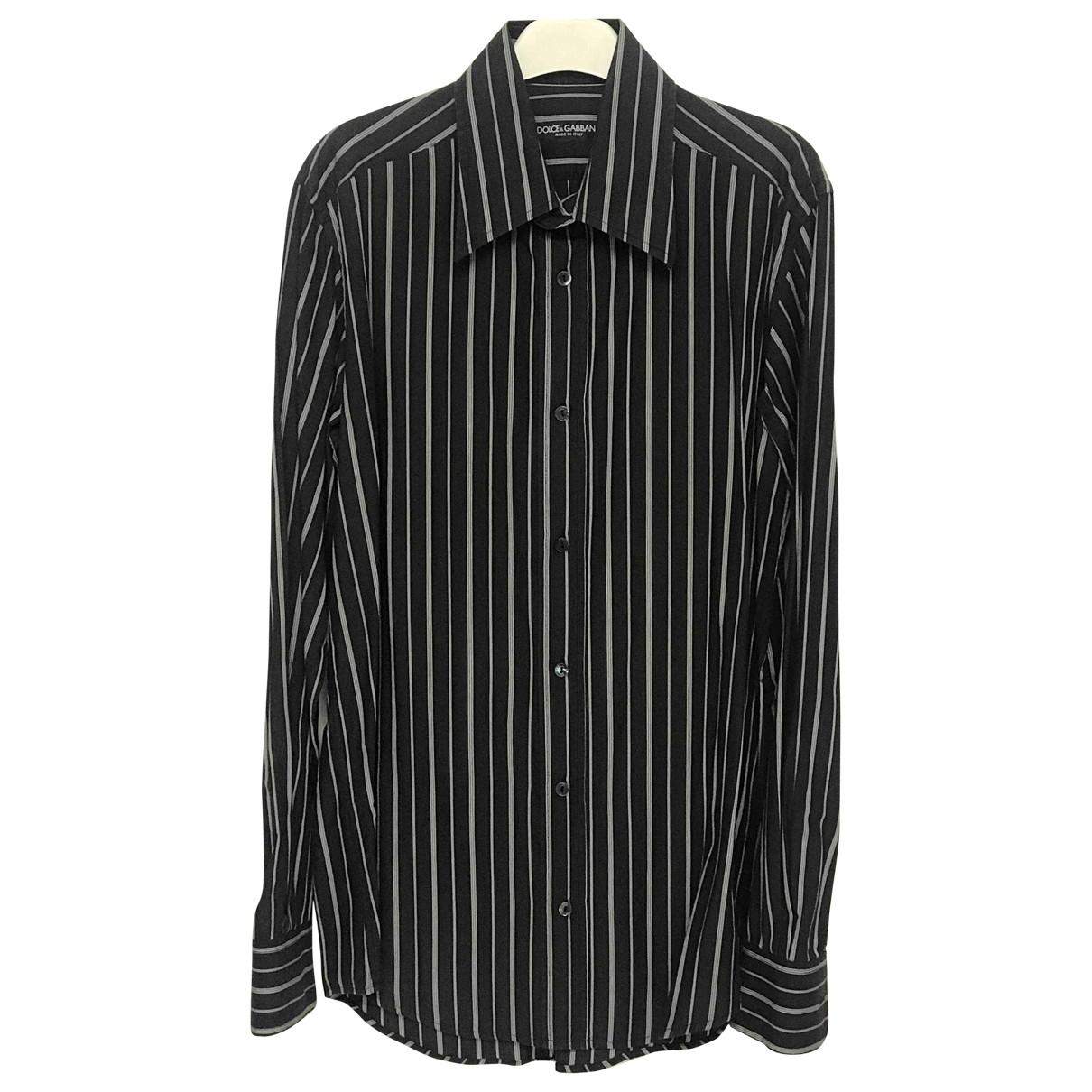 Dolce & Gabbana - Chemises   pour homme en coton - bleu