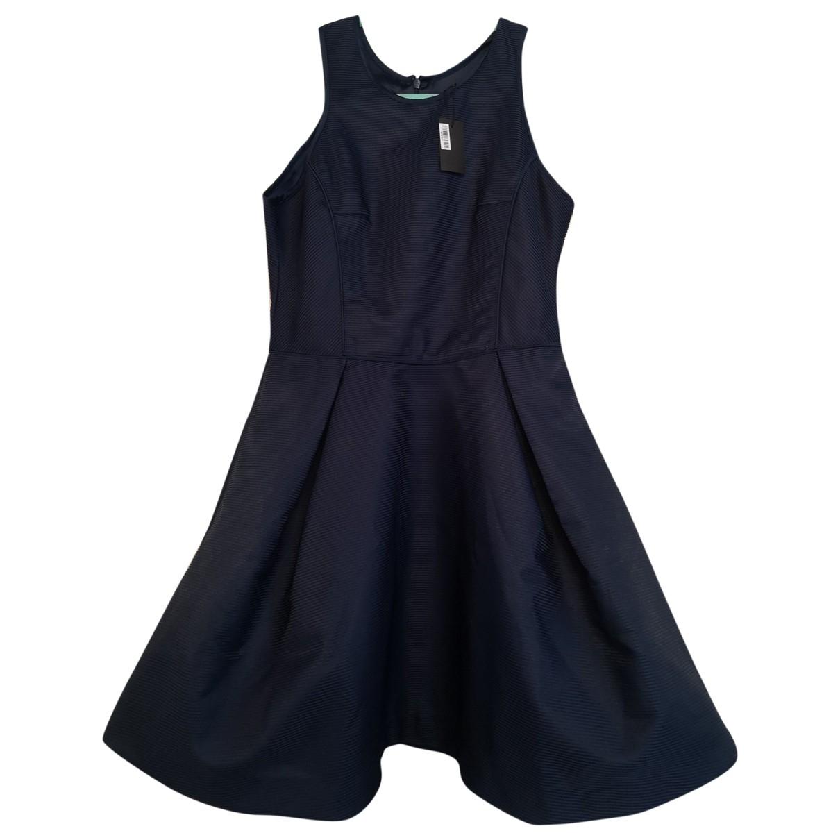 Maje \N Navy dress for Women 12 UK