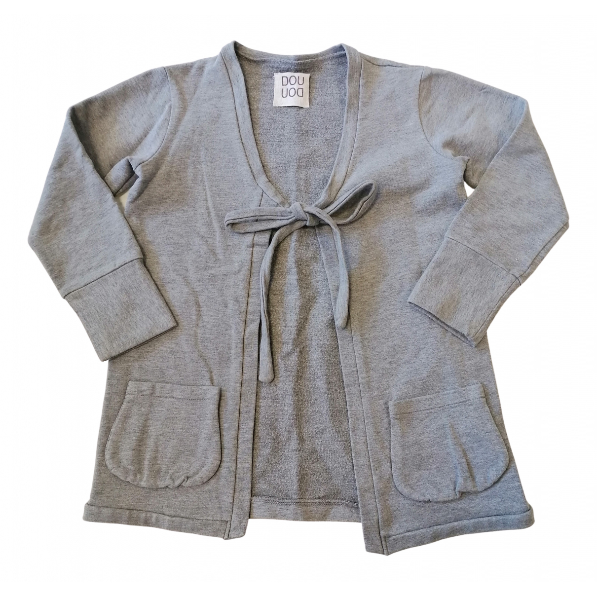 Douuod - Pull   pour enfant en coton - gris
